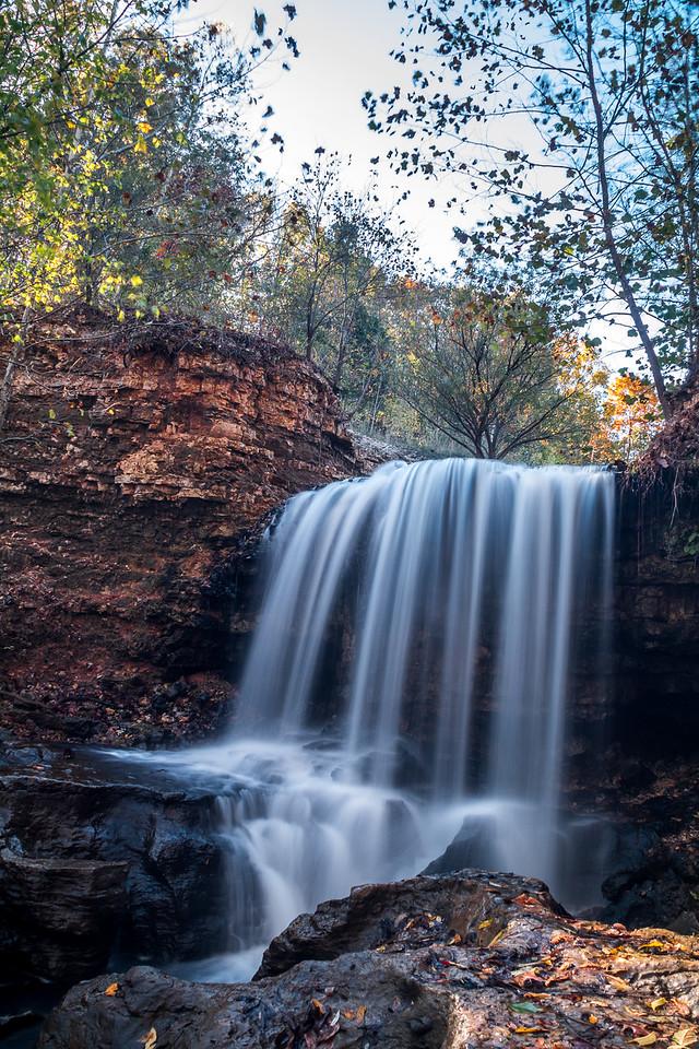 Tanyard Creek Waterfall Vertical