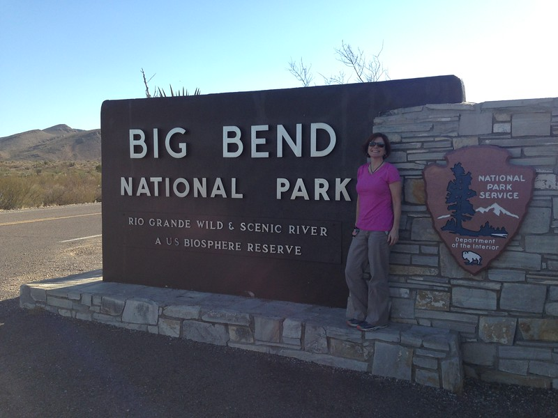 Big Bend!  We'll remember it as a quite unspoiled and huge land of desert, mountains and river, where it takes 30 minutes to drive far enough to see another person.