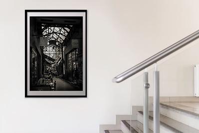 """Block Arcade, Melbourne.' Gallery mock-up."