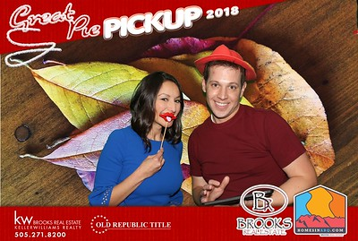 2018 Great Pie Pick Up Photo Booth Pictures