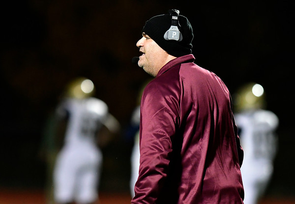 11/2/2018 Mike Orazzi   Staff Bristol Central's ?Jeff Papazian during Friday night football with Platt in Bristol.
