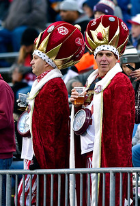 11/24/2018 Mike Orazzi | Staff College football fans during Saturday's UConn football game at Rentschler Field in East Hartford with Temple.