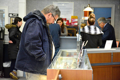 11/24/2018 Mike Orazzi | Staff Fred Greenleaf while shopping at Shannon's Diamonds & Fine Jewelry in Bristol on Saturday.
