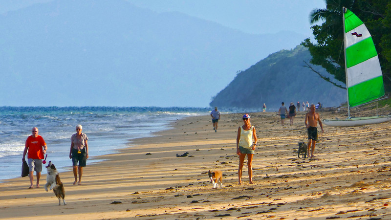 """""""Wongaling Beach, late afternoon, looking towards Tam O'Shanter Point. Decisive Moment 1/2."""""""