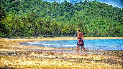 """""""Beachcomber - Bingal Bay Beach, North Queensland."""""""