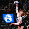 Class 3A volleyball semifinals