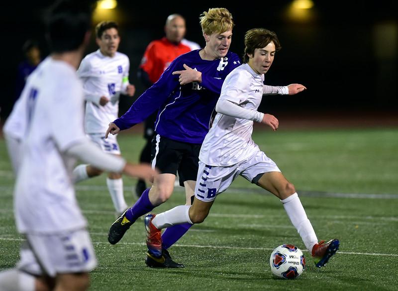 Broomfield vs Boulder Boys Playoff Soccer