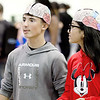 KEVIN HARVISON | Staff photo<br /> Pictured are two of the over 1,500 students that attended the Annual Eatern Oklahoma State Colleges Eighth Grade Career Fair Thursday at the Southeast Expo Center.