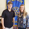 SUBMITTED PHOTO |    <br /> Rotary Club of McAlester has named McAlester High School Seniors Caleb Miller, left and Kamryn Higgs as the Rotary Students of the Week.