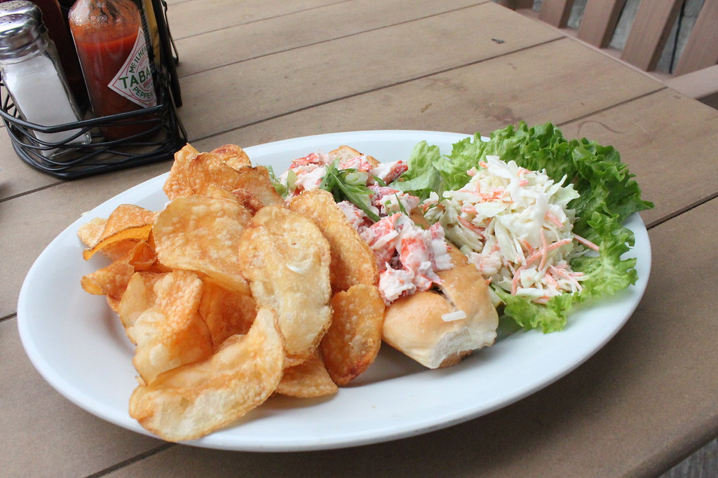 Lobster roll, Lombard's Seafood Grille