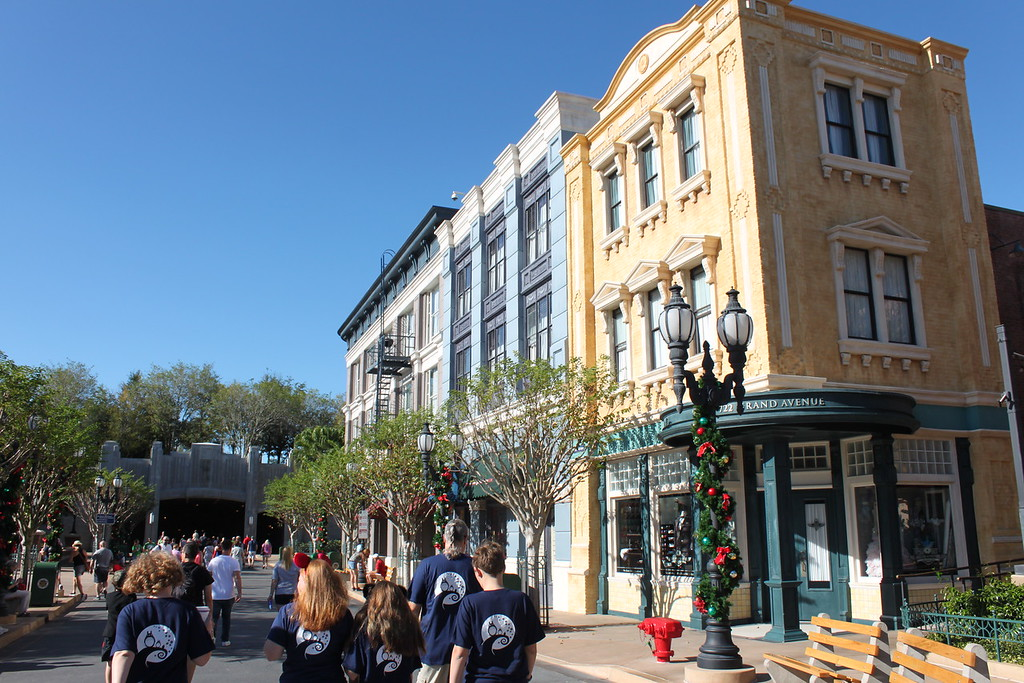 Colorful buildings resemble those of San Francisco at Disney's Hollywood Studios