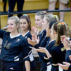 KEVIN HARVISON | Staff photo<br /> Seniors for McAlester High School Volleyball was honored Thursday night at Bob Brumley.