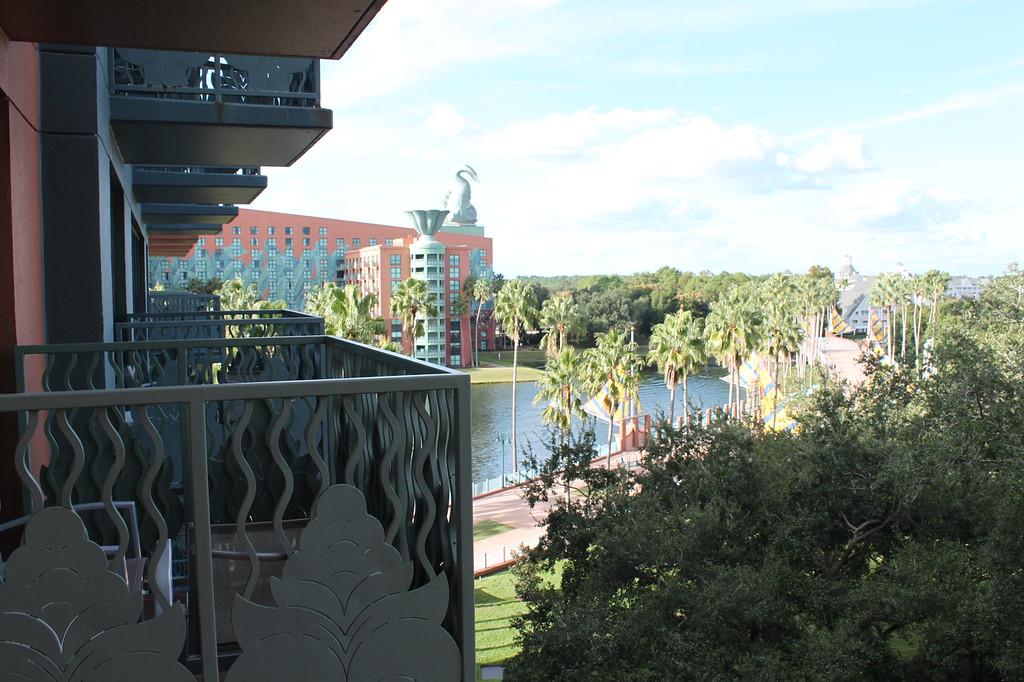 Balcony at Swan Resort