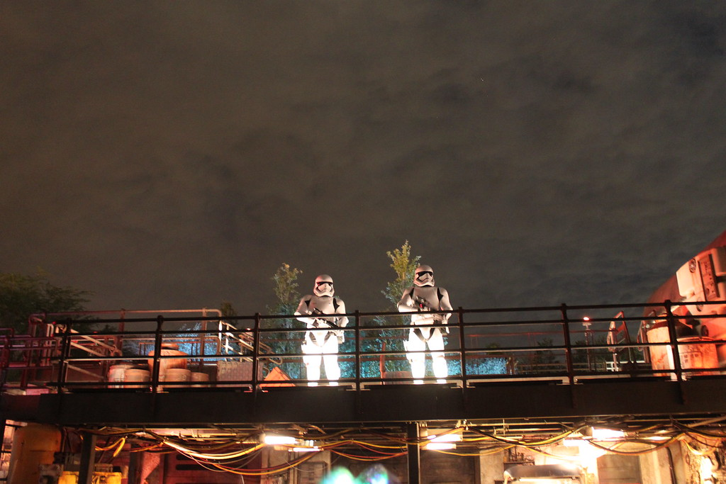 Storm Troopers at Galaxy's Edge