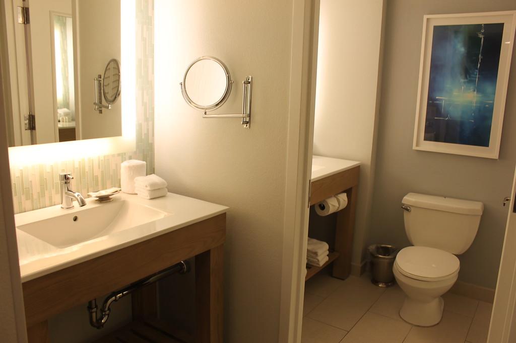 Bathroom at Swan Resort