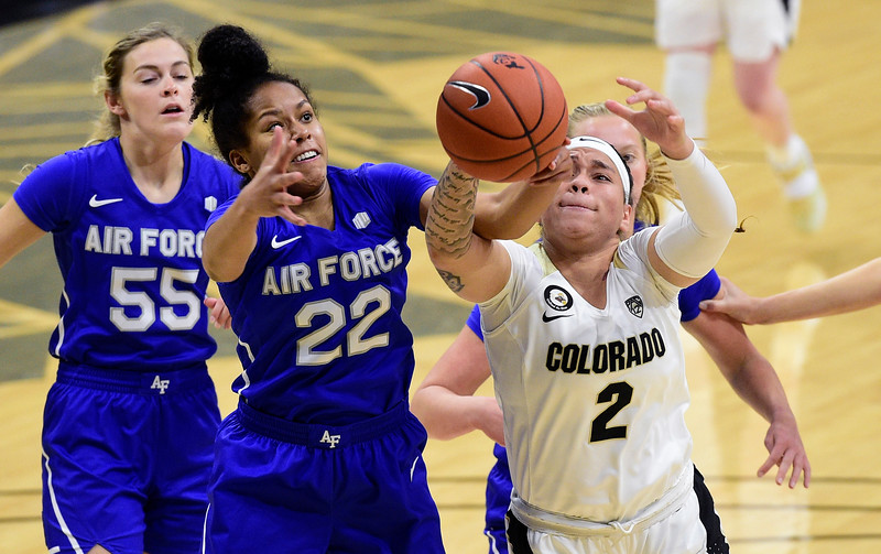 Air Force at Colorado WBB
