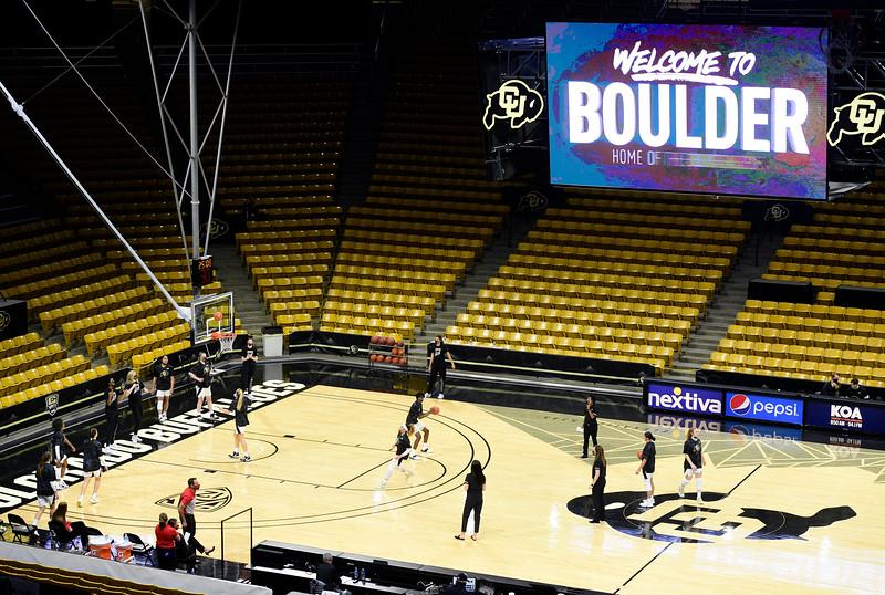 CU WBB Western Colorado in Boulder