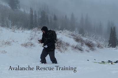 Avalanche Rescue Training