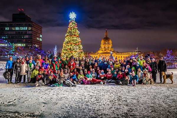 November Project Christmas 2017