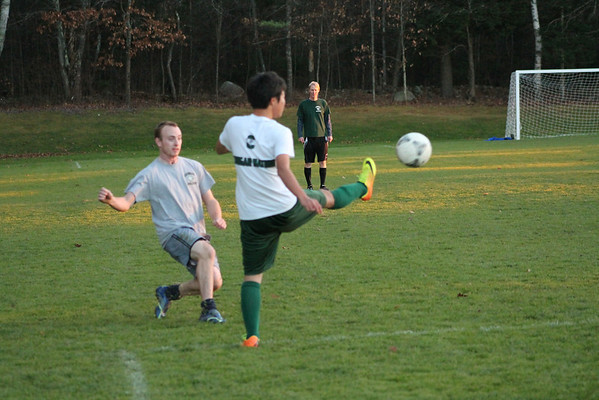Faculty/Student Soccer Game November 2013