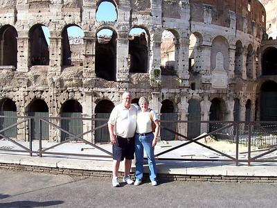Ken and Rosalie Spears  2007  Rome Trip