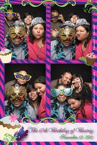 Beatriz 17th Birthday Party