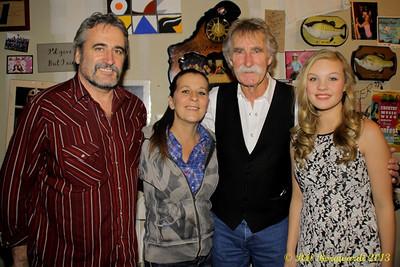 Jazz & Tannis Mathews, hosts, with Gary Fjellgaard & Olivia Rose - Dog Rump Creek Tavern house concert