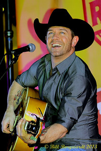 Aaron Pritchett at West Edmonton Mall Rodeo Kick-off