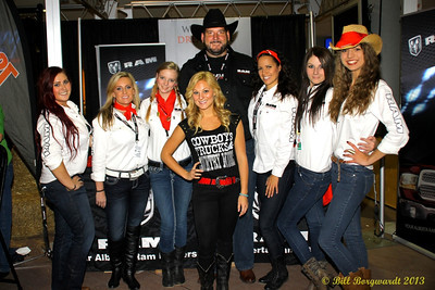 Alex Hughes & Dodge Ram crew at CFR