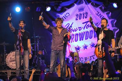 Chad Brownlee, Jason Blaine, Deric Ruttan - Your Town Throwdown 451