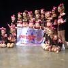 Bee's Knees cheer team takes grand champion prize. Way to go Vivi