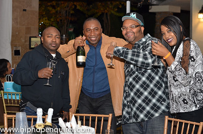 Dennis Byron of Hip Hop Enquirer's Birthday Celebration.