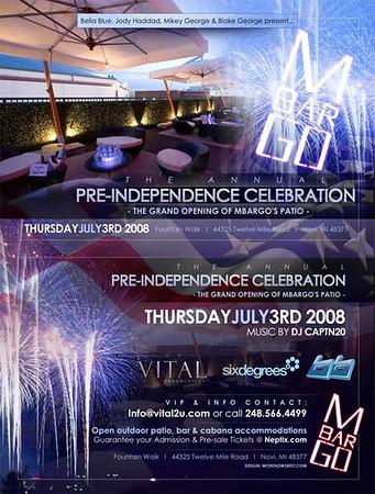 Pre-Independence Celebration