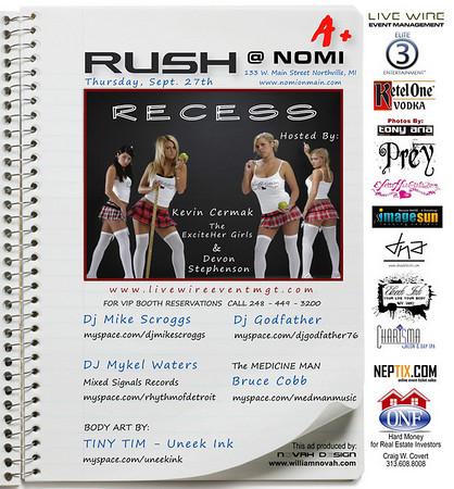 Rush ~ Recess