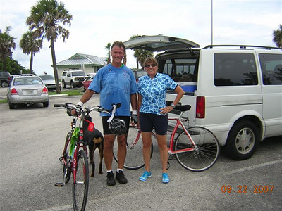 Franci and Frank at Bridge Rd, Jupiter Island