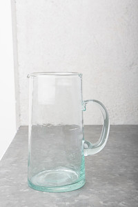 UNC Recycled Moroccan Glass Carafe