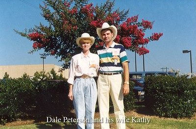 Dale Peterson and his wife