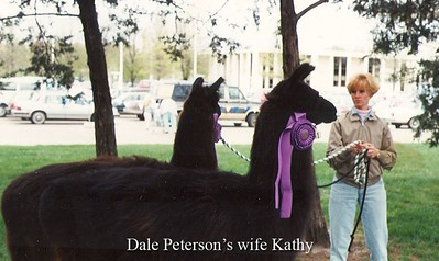 Dale Peterson's wife