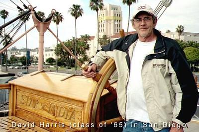 David Harris in San Diego