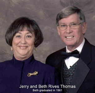 Beth Rives Thomas and husband Jerry