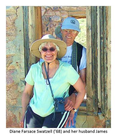 James & Diane at Victoria Mines