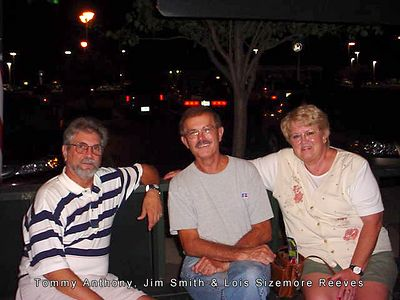 Tommy Anthony, Jim smith and Lois Sizemore Reeves