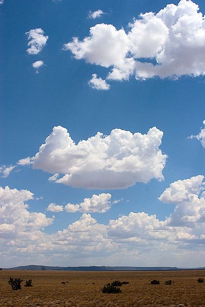 Clouds Over Sand