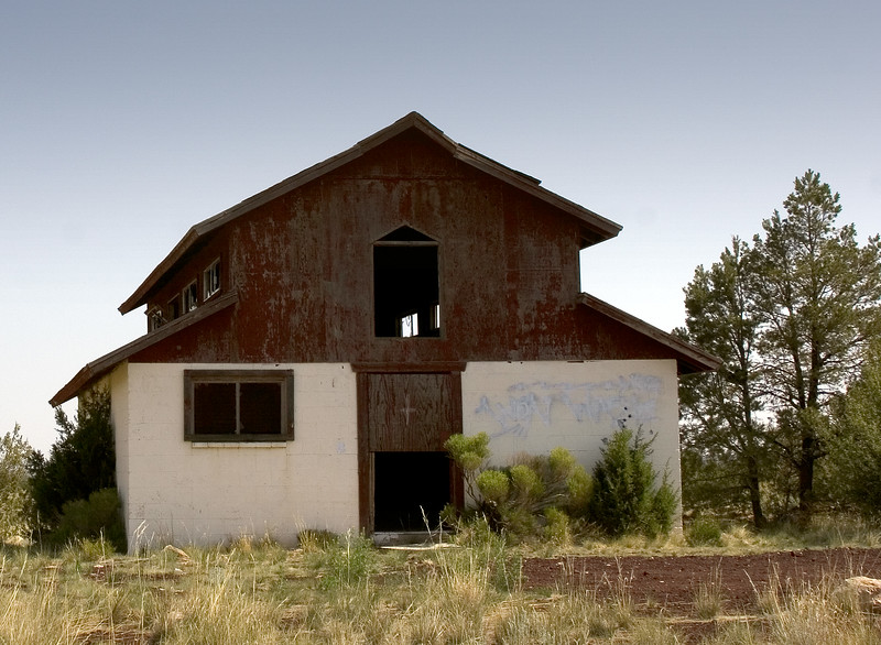 Empty Desert Church