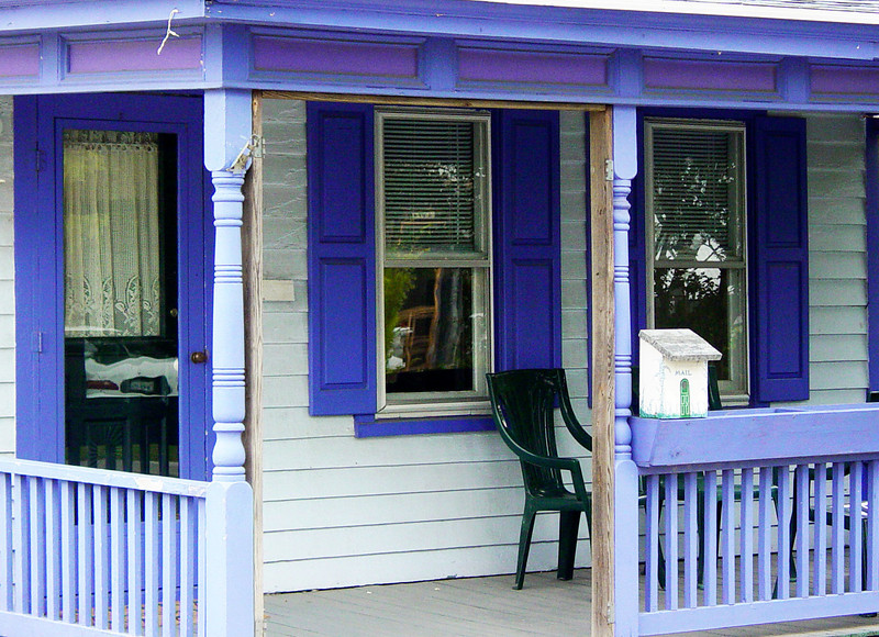 Purple Porch