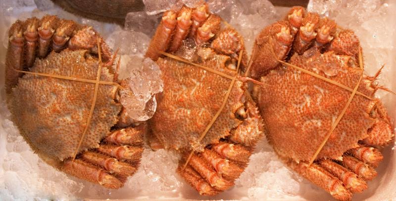 Trussed Crabs