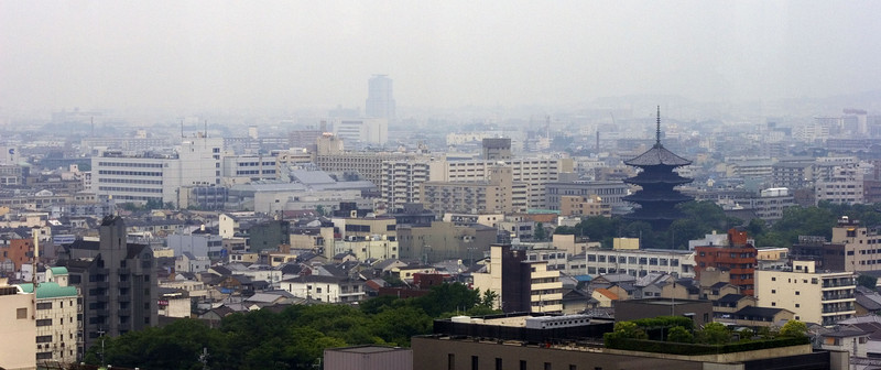 Kyoto, View From Train Station