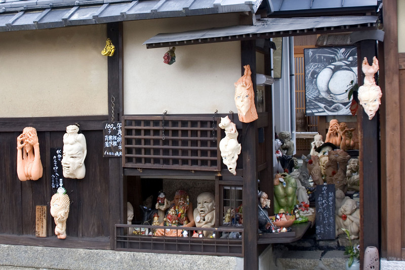 Artist's Shop In Kyoto