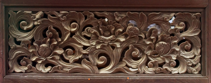 Temple Gate Carving, Kyoto