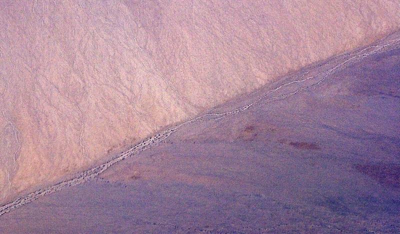 Dry Desert River